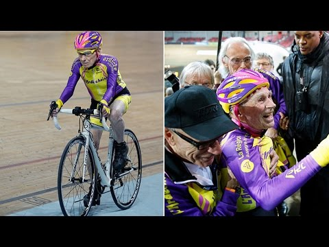 105-Year-Old Cyclist Breaks World Record, Proves Former Coach Wrong