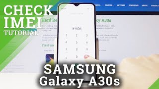 How to Read IMEI & SN in SAMSUNG Galaxy A30s – IMEI Status