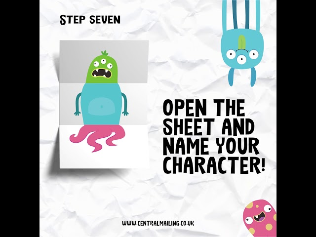 Create a Character! Central Mailing Services