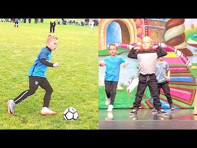 U11 Boys Playoff Soccer Game and Kids Hip Hop Dance Recital!