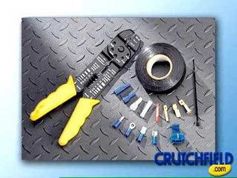 how to install a car stereo courtesy of crutchfield how to install a car stereo courtesy of crutchfield