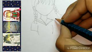 How to draw a cute manga girl in uniform (no time-lapse drawing) // Real time drawing // Vardah Arts