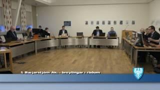 Fundur Bæjarstjórnar 17.janúar 2017