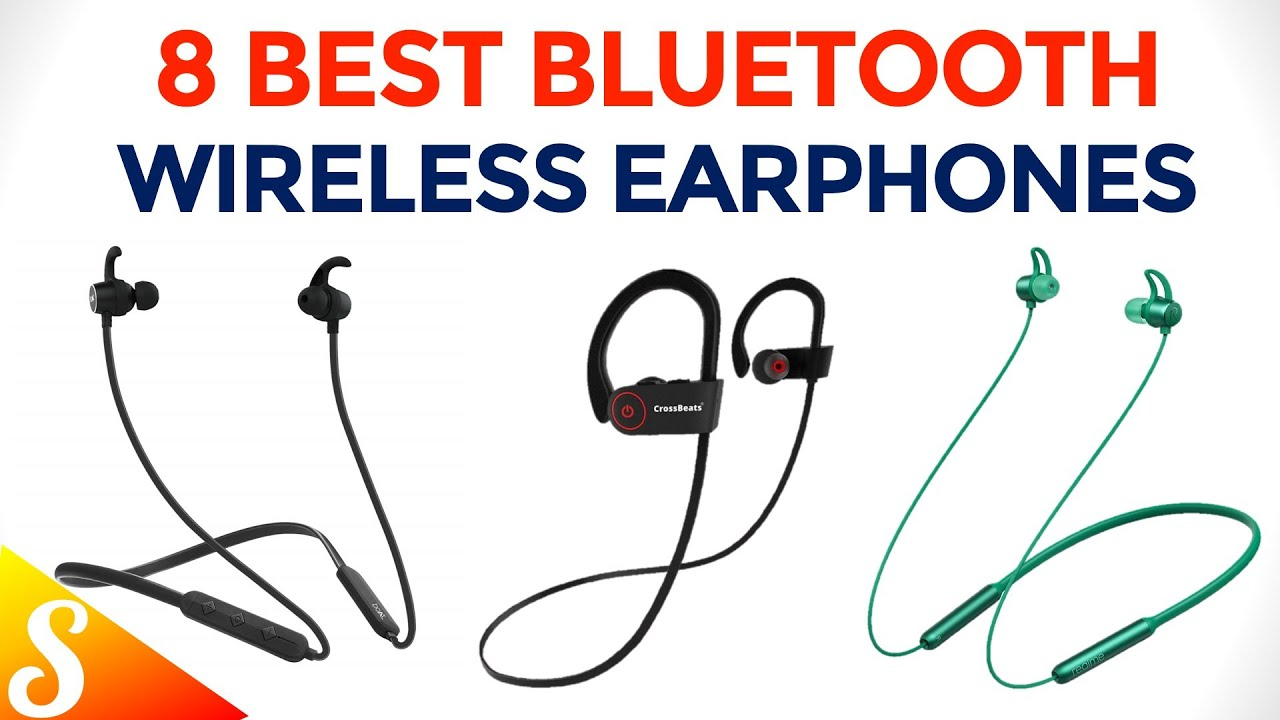 8 Best Bluetooth Wireless Earphones With Mic 2020 Best Investment Quality Earphones Youtube
