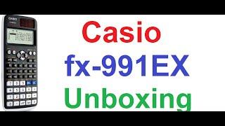 Casio fx-991EX Classwiz Scientific Calculator - Unboxing and First Review(My Casio Scientific Calculator Tutorials- http://goo.gl/uiTDQS This is the unboxing and first review video of latest scientific calculator, Casio fx-991EX Classwiz ..., 2015-12-03T17:06:24.000Z)