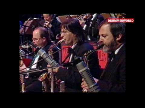 Jeff Hamilton - Ray Brown - Benny Green: Squatty Roo  (WDR BIG BAND)