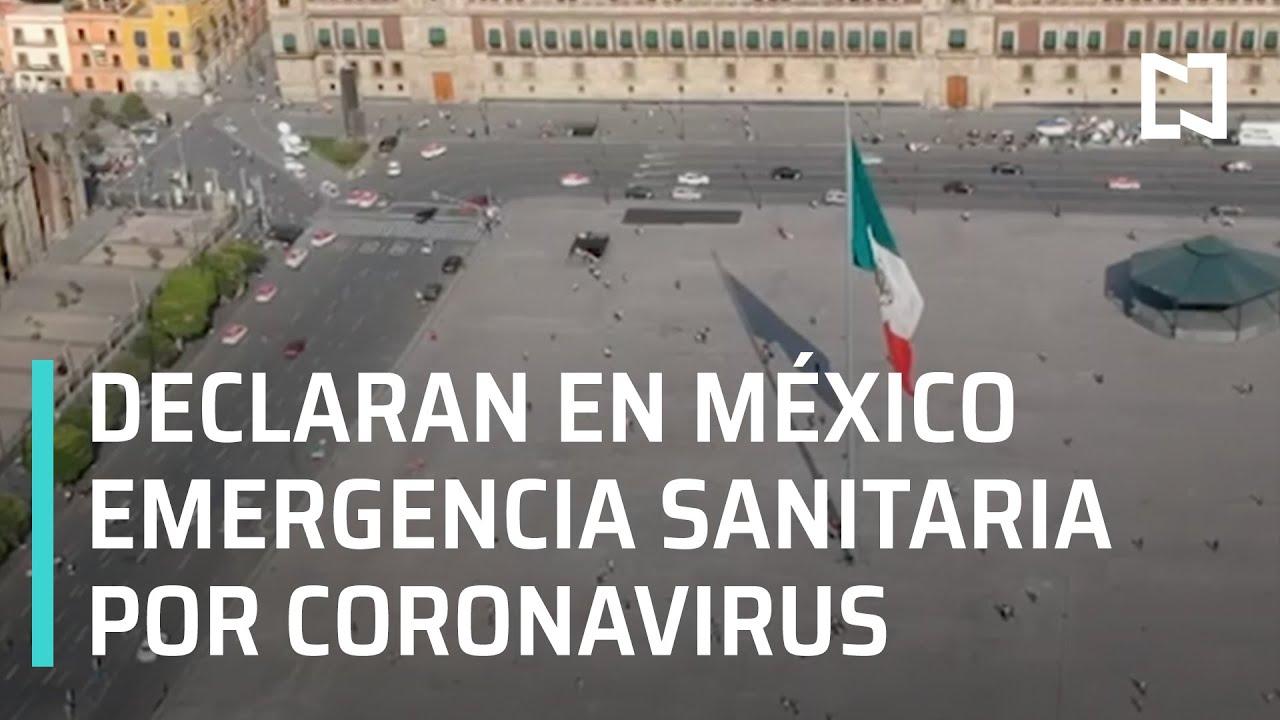 Emergencia sanitaria por coronavirus en México - En Punto