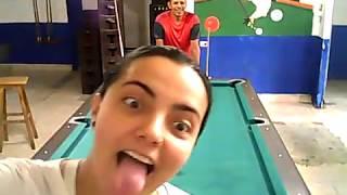 Carlos Alvarado entrenando con Andrea Cardona