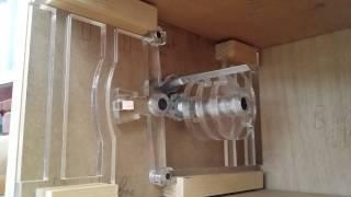 DIY wooden safe box - Combination lock