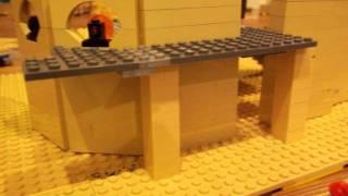 LEGO-11th Doctor Tardis interior rebuilt