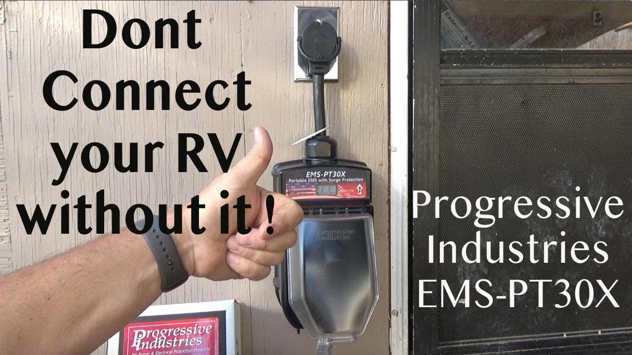 Rv Must Have Progressive Industries Ems Pt30x Portable Surge Protector