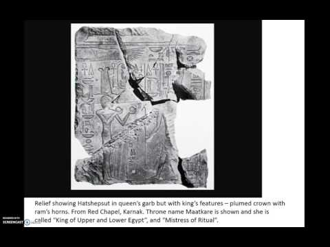 ANCIENT HISTORY - The Changing Image of Hatshepsut: Part 1