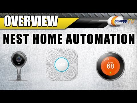 Nest Home Automation Overview ft. Nest Security Camera, Thermostat, and Smoke Alarm - Newegg TV