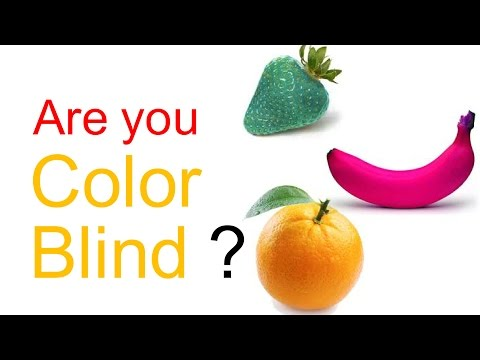 Are you colour Blind? (Test with answers)
