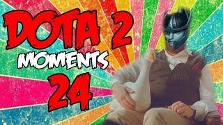 Dota 2 - Moments 24 С нами Гусь
