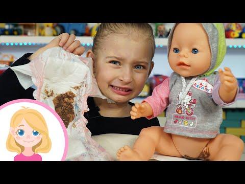 Маленькая Вера как мама - Большой сборник поиграек с куклой Бэби Борн