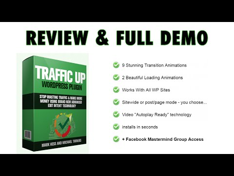 WP Traffic Up Plugin Review & Demo