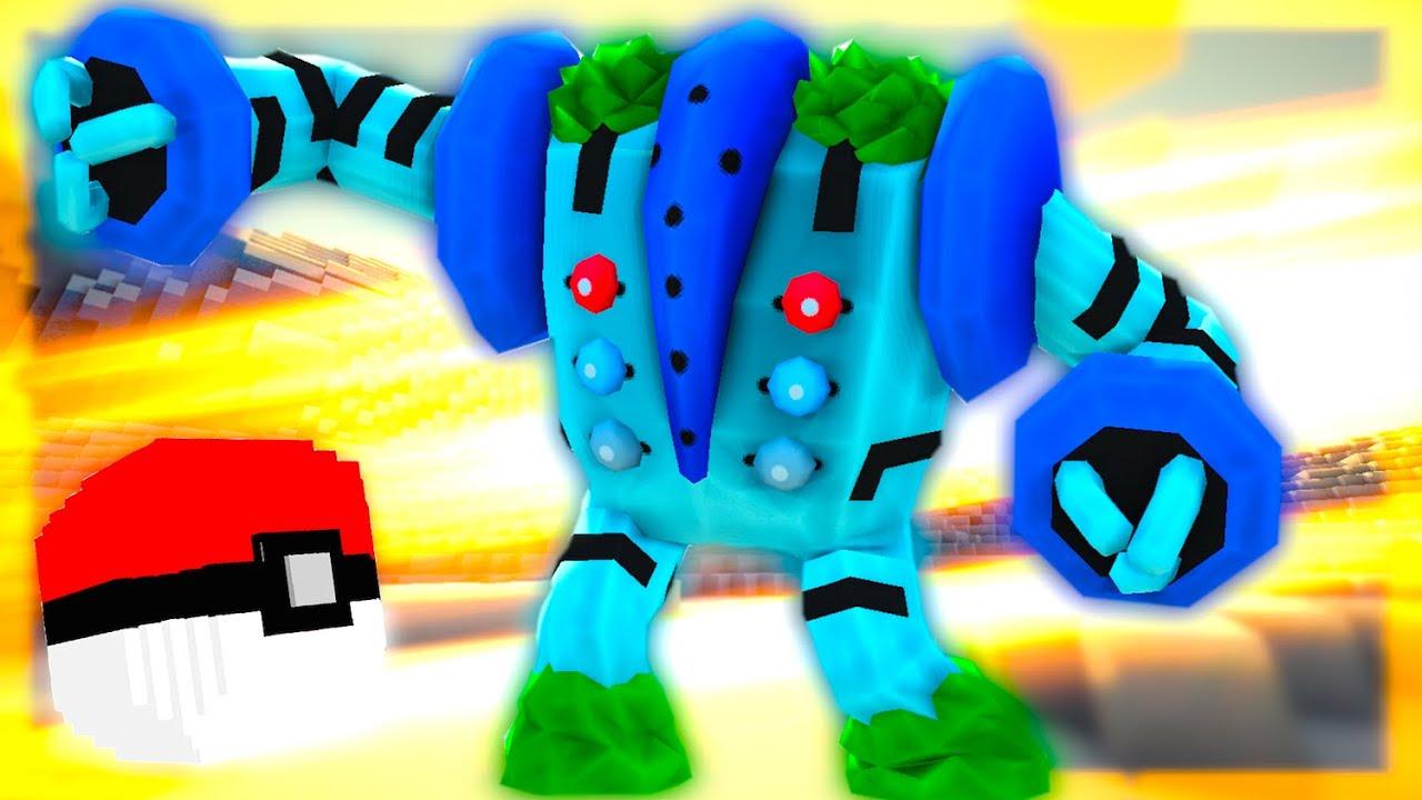 Смотреть Майнкрафт с Модом на Покемонов