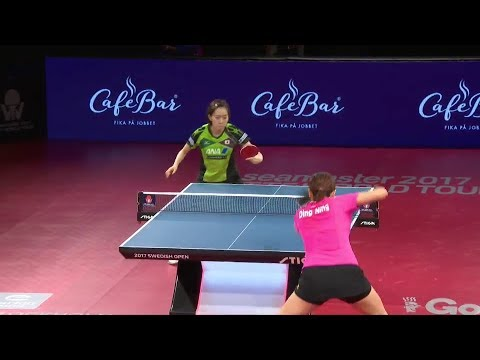 2017 Swedish Open (WS-SF) DING Ning Vs ISHIKAWA Kasumi [Full Match/English|1080p]