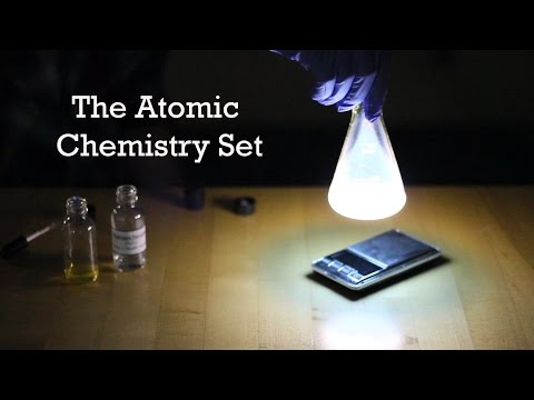 The Atomic Chemistry Set – The Best Chemistry Set in the World