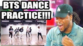 BTS - MIC Drop Dance Practice (MAMA dance break ver.) Reaction!!!