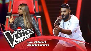 Nuwanga Samarasinghe - Hanika Warew Kollane(හනික වරෙව් කොල්ලනේ)|Blind Auditions |The Voice Sri Lanka Thumbnail