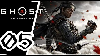 Ghost of Tsushima -  - Gameplay Walkthrough Part 5 - PS4