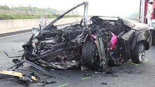 4 Tote - 1 Verletzte bei Unfall auf A4 Höhe Kerpen-Buir am 27.08.17 + O-Töne