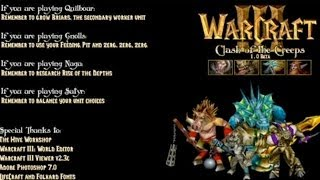 Warcraft 3 - Clash of the Creeps (4v4 #4)