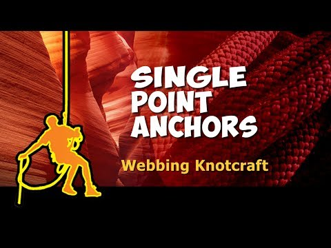 Webbing Knotcraft for Single Point Anchors