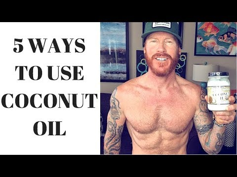 5 Ways to Use Coconut Oil / Naturally Heal Dermatitis, Eczema, Psorisasis