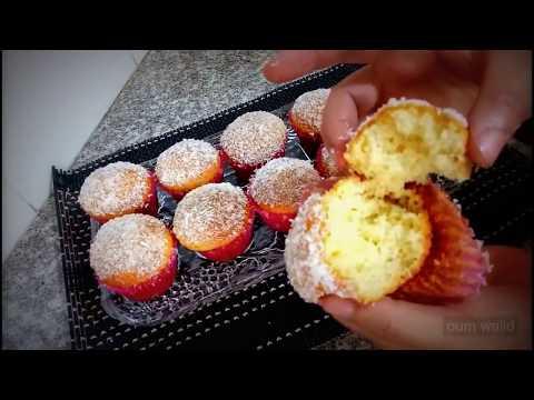 recette-madeleine-noix-de-coco---مطبخ-أم-وليد-oum-walid