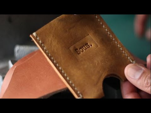 Starting my Leather business from 'SCRAPS' | The Local Leather Guy