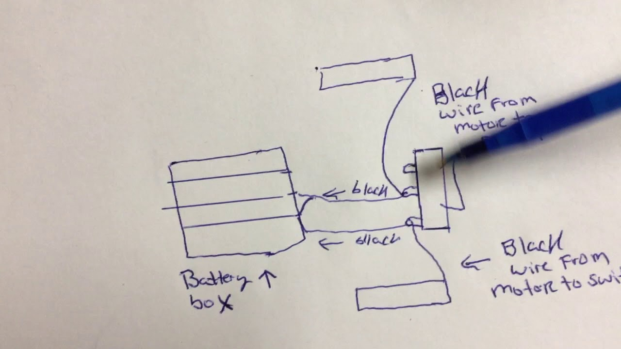 Wiring diagram for toggle switch Emgreat robot car  YouTube