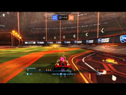 Joey and i go 8 to Nil in Rocket League