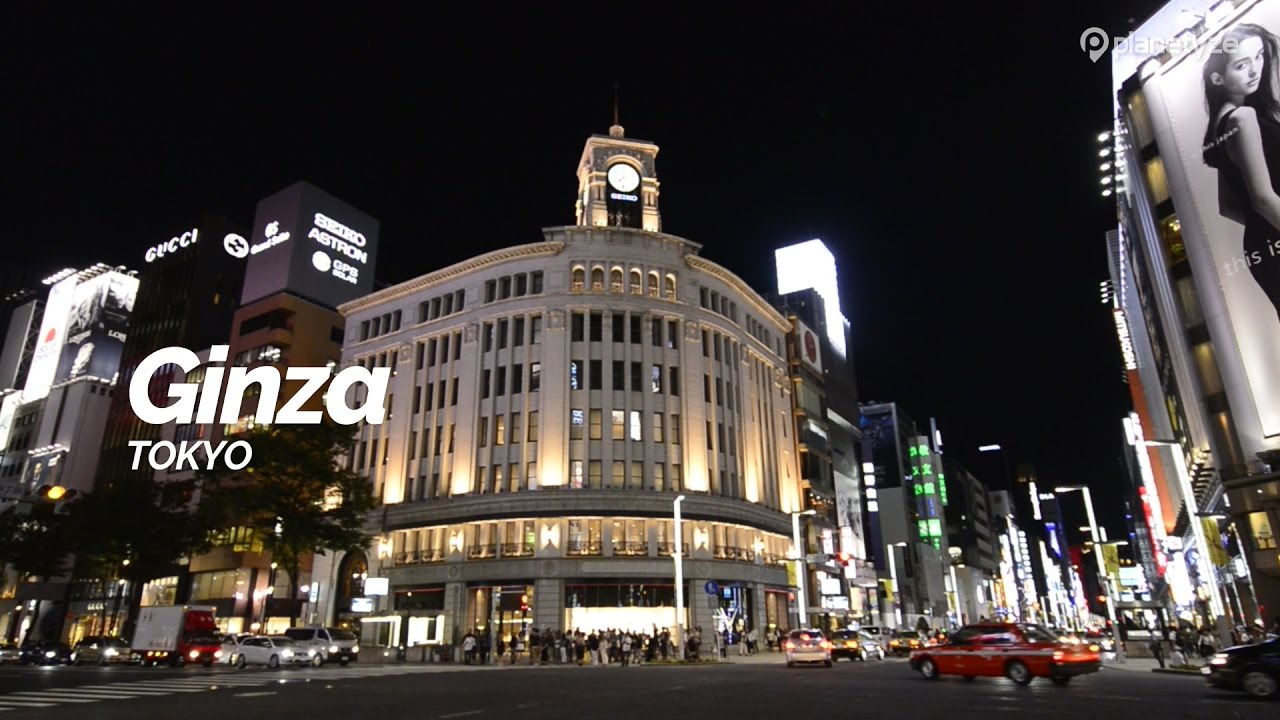Ginza,Tokyo | Japan Travel Guide - YouTube