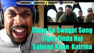 Swag Se Swagat|Tiger Zinda Hai | Salman Khan | Katrina Kaif | Vishal Dadlani | Neha Bhasin REACTION!