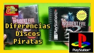 Comparacion juegos playstation piratas y originales - Calidad en pirateria