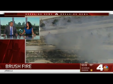Breaking News Live: Brush Fires in Rancho Cucamonga California