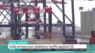 India announces retaliatory tariffs against US