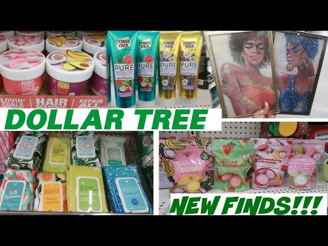DOLLAR TREE * AWESOME NEW FINDS!!! COME WITH ME