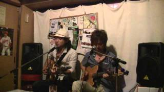 2011.07.10 祇園大和大路フォークソングカフェ 明日(メイビー)でのラ...