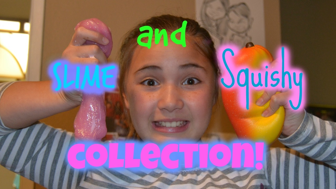Squishy Collection 2017 : Squishy and slime collection 2017! - YouTube