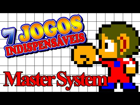 Master System - 7 Jogos Indispensáveis