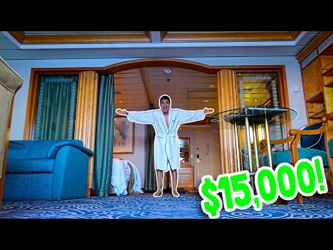 MOST EXPENSIVE ROOM ON THE BOAT! ($15,000)