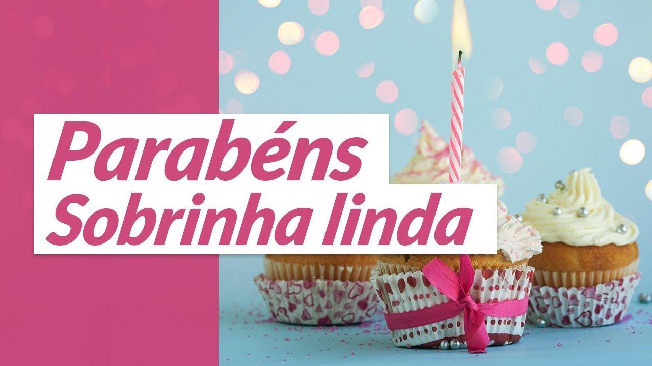 Beijo De Parabéns Para Sobrinha: Parabéns, Sobrinha Linda Da Tia