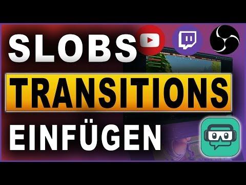 STREAMLABS OBS STINGER TRANSITION TUTORIAL 2018 Deutsch German