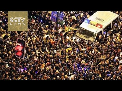 Witness releases raw video of Shanghai stampede