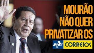 Mourão não quer privatizar os CORREIOS! | Rubinho Nunes