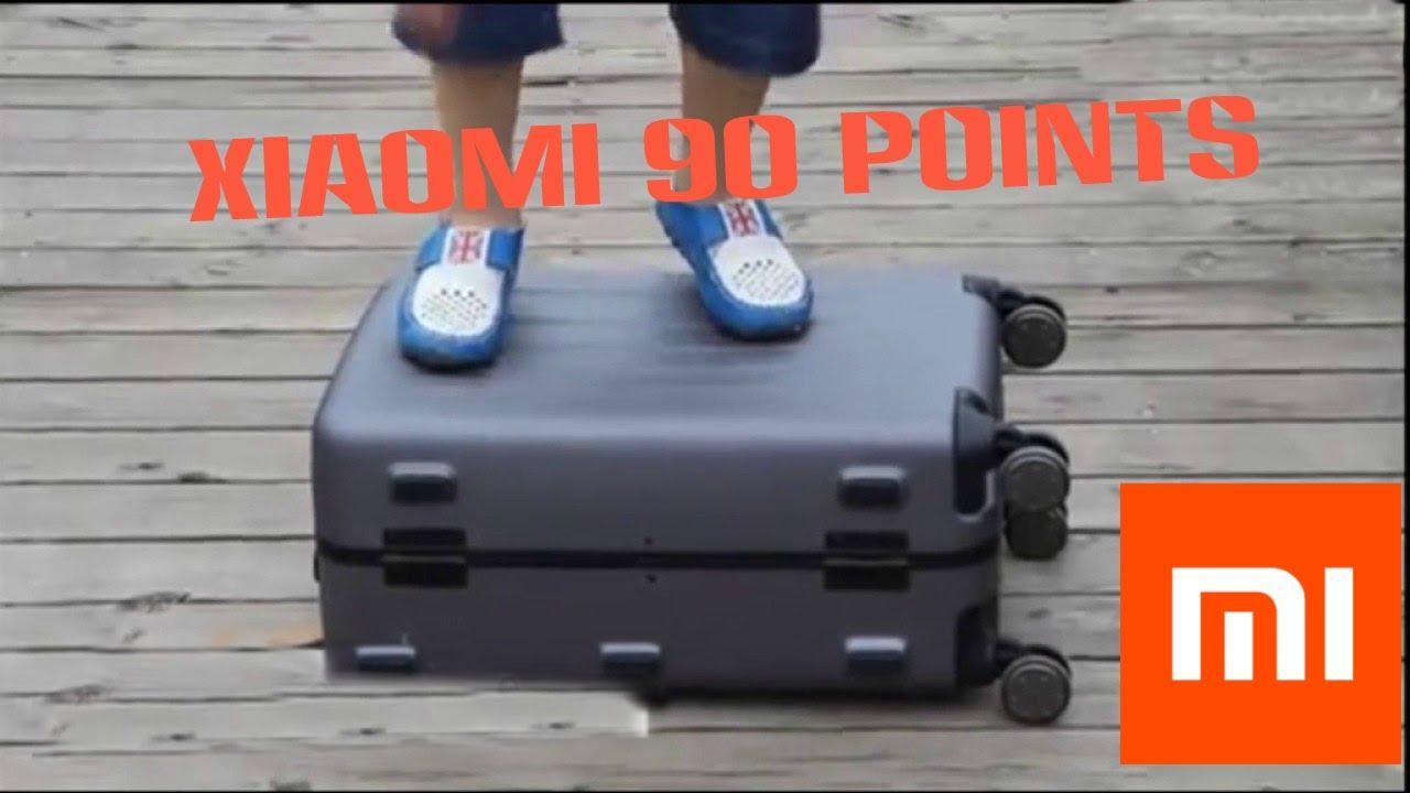 Обзор на чемодан Xiaomi 90 points suitcase 24 - YouTube 9c2046a9ce4
